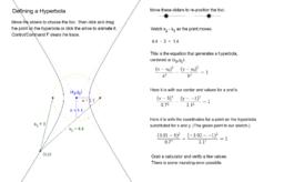 Defining a Hyperbola