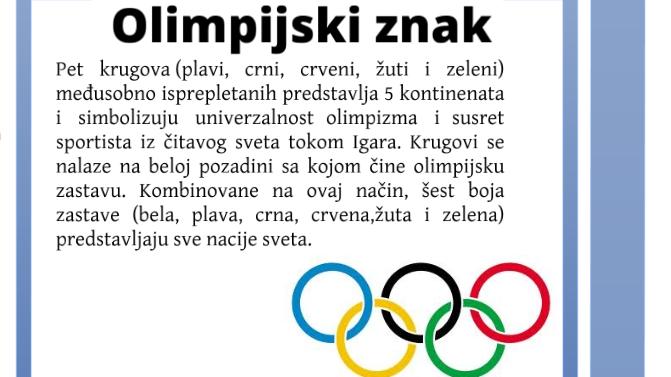 Simbol Olimpijskih igara