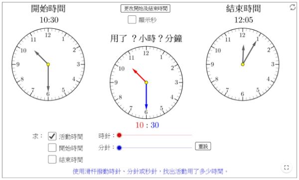 量度活動所用的時間 - 柯志明