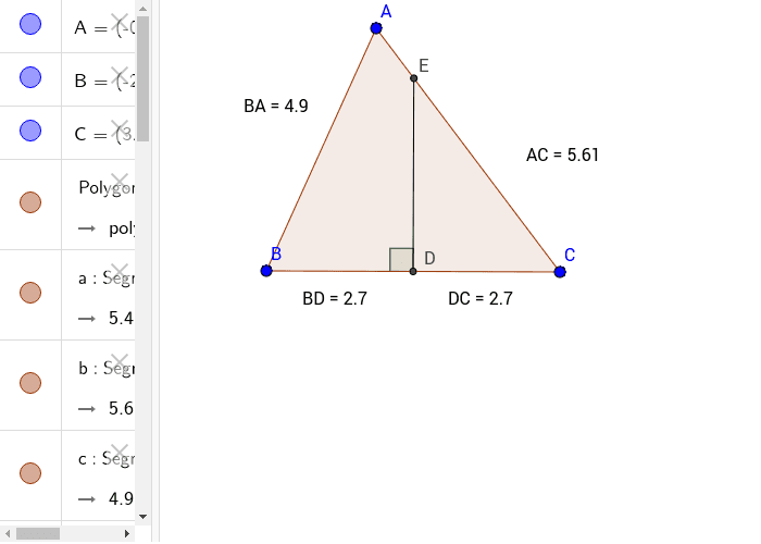 Perpendicular Bisector (Free) Press Enter to start activity