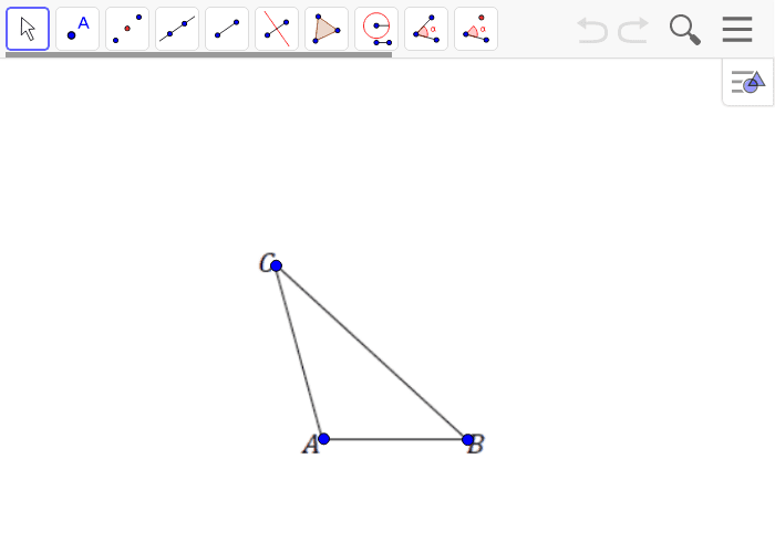 Create a scale drawing of triangle ABC with a scale factor of r = 2 Press Enter to start activity
