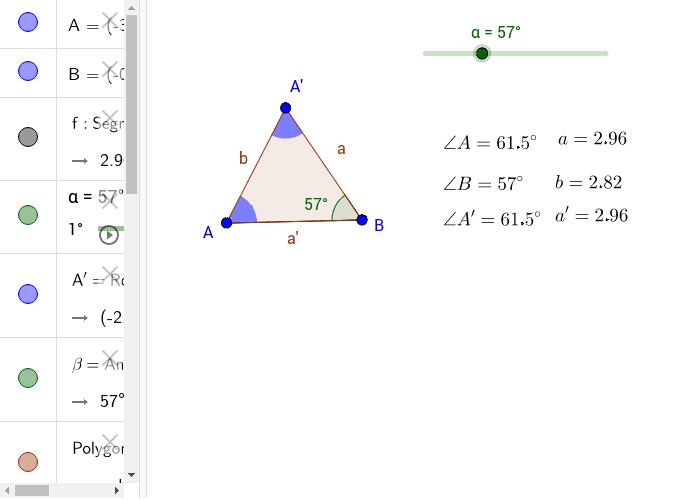 Isosceles Triangle Press Enter to start activity