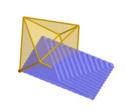 TAC d'un octoedre