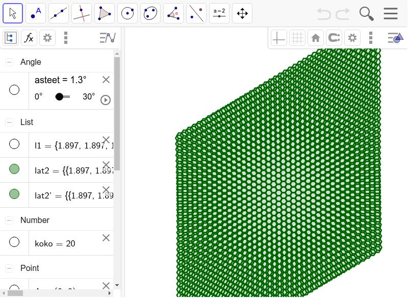 hexagonal moire, read nature article Paina Enter aloittaaksesi