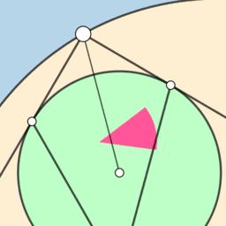 Semicircular Angle Problem