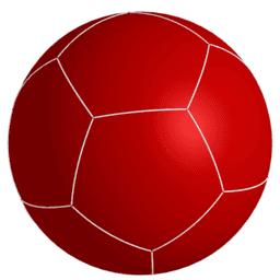 Las cinco divisiones regulares de la esfera (The five regular divisions of the sphere)