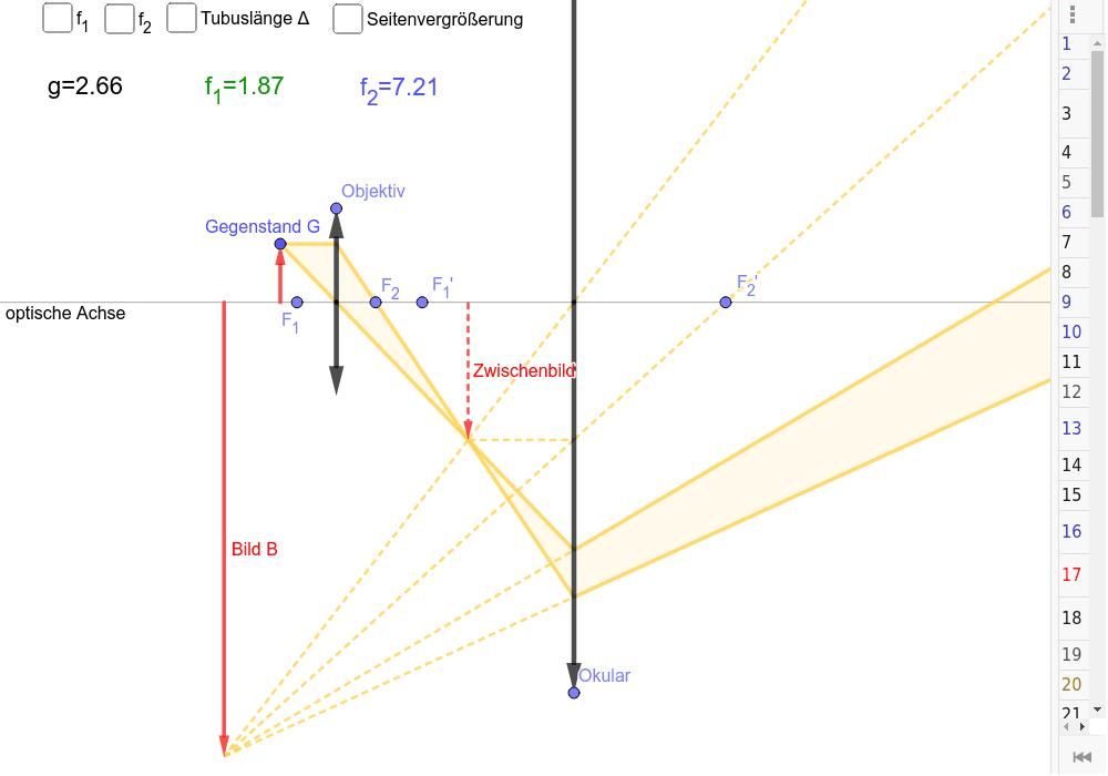 Spiele das Konstruktionsprotokoll ab (Ziehe den Balken am rechten Bildrand nach links)! Drücke die Eingabetaste um die Aktivität zu starten
