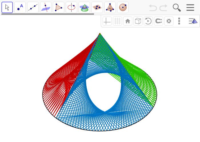 tetrahedron upon a cricle Drücke die Eingabetaste um die Aktivität zu starten