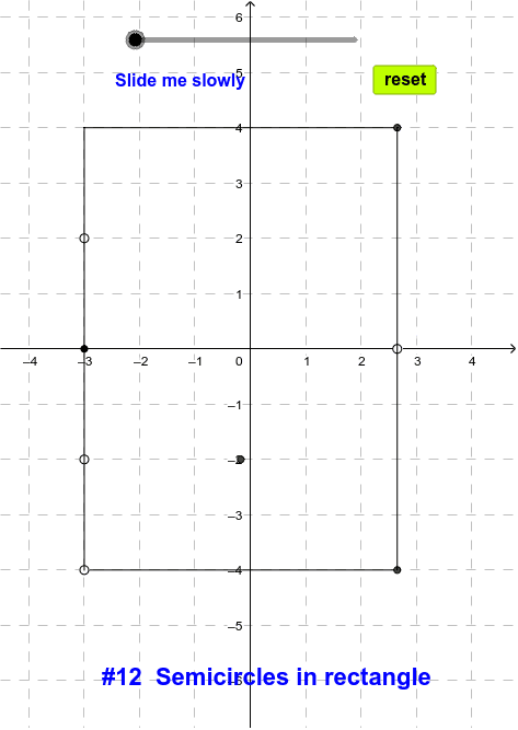12 Semicircles in rectangle (1) Press Enter to start activity