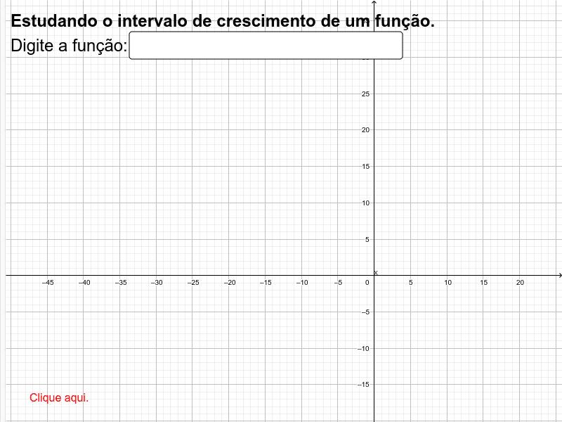 Vamos observar e manipular o gráfico de uma função logarítmica? Insira a função desejada. Press Enter to start activity