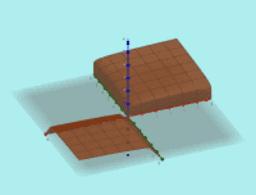 ¿Cómo afectan los parámetros a algunas superficies