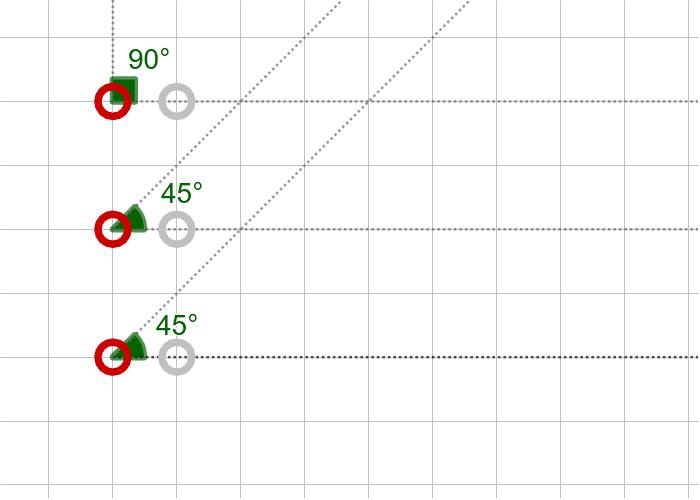 과제11. 세 내각의 크기가 45º, 45º, 90º인 삼각형(AAA) 활동을 시작하려면 엔터키를 누르세요.