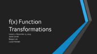 f(x) Function Transformations.pdf