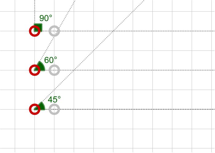 과제10. 세 내각의 크기가 45º, 60º, 90º인 삼각형(AAA) 활동을 시작하려면 엔터키를 누르세요.