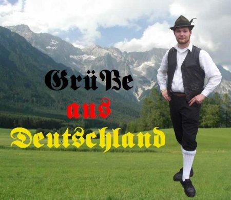 Deutschland ist Groß aber du klein