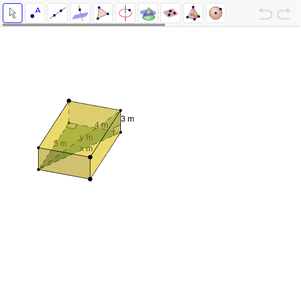 Drag the vertices to get different views of the right triangles Press Enter to start activity