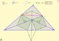 Perpendicular a la hipotenusa por el incentro