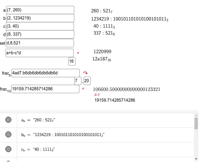 Rechner.js Press Enter to start activity