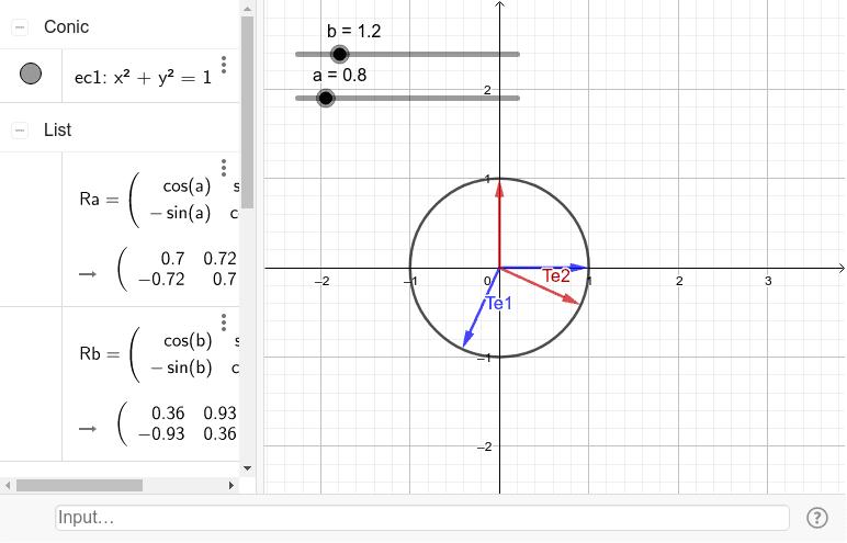 Combinación de Rotaciones Ra y Rb Presiona Intro para comenzar la actividad