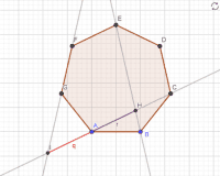 Theorems on regular polygons