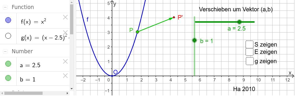 Funktion f kann egändert werden Drücke die Eingabetaste um die Aktivität zu starten