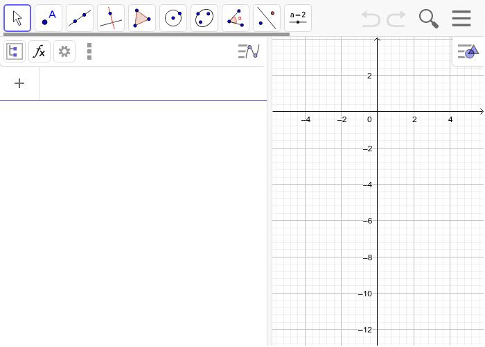 Nacrtaj graf funkcije i dobivene tangente. Pritisnite Enter kako bi pokrenuli aktivnost