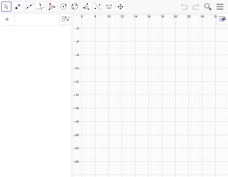Disegna VELOCEMENTE, utilizzando le equazioni delle rette, 6 rette parallele tra loro Premi Invio per avviare l'attività