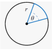 To determine the fraction that should be used in our calculations, we must know the size of the angle located at the circle's center.