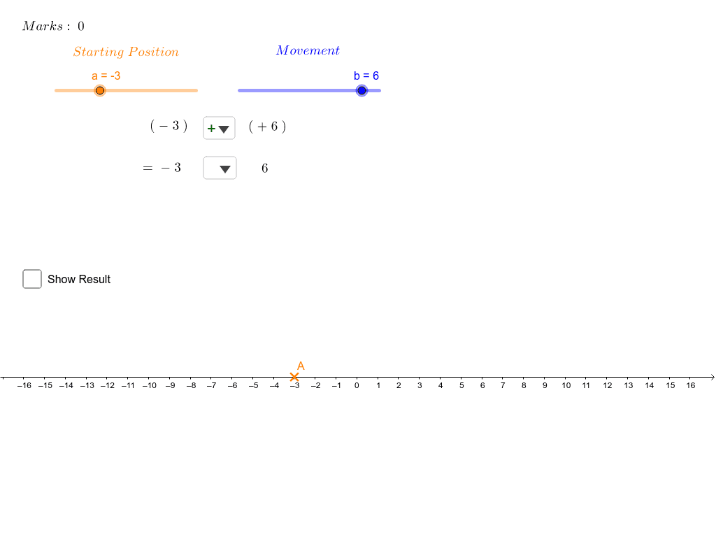 Addition and Subtraction of Directed Number Press Enter to start activity