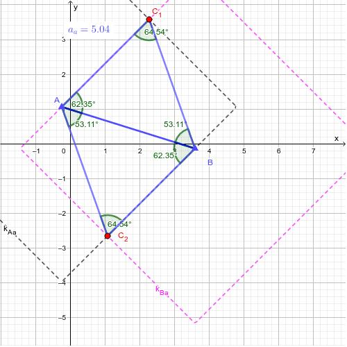 Háromszög egyenlő ahosszú oldalakkal Press Enter to start activity